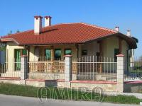 Brand new 3 bedroom house in Bulgaria front