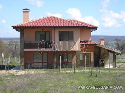 New house with panorama next to Varna front