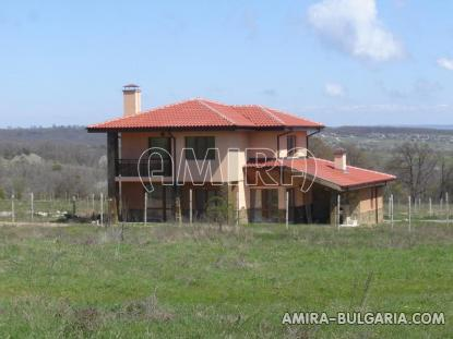 New house with panorama next to Varna front 2