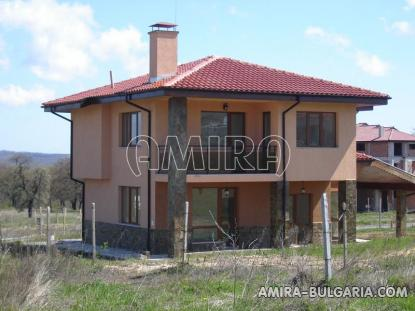 New house with panorama next to Varna front 3