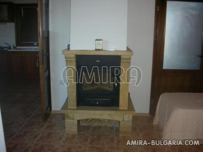 Furnished house with pool and sea view Albena, Bulgaria fireplace