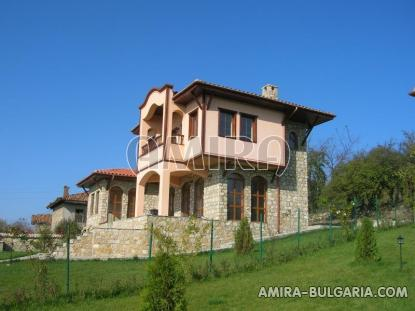 Authentic Bulgarian style house with lake view side