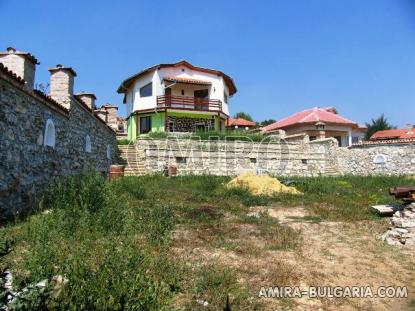 New house with magnificent panorama near Albena, Bulgaria garden