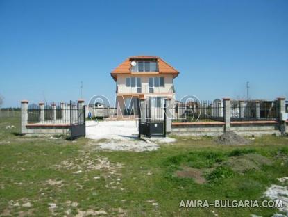 Sea view villa above a golf course 1