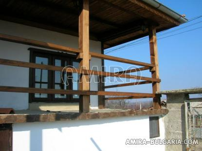 Furnished house 12 km from the beach terrace 2