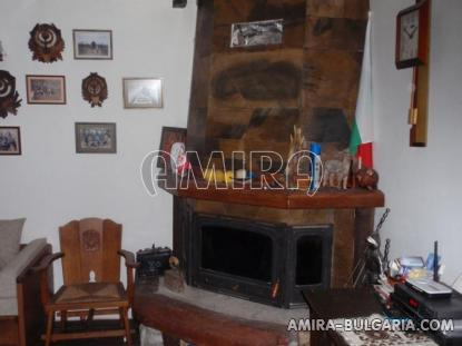 Authentic Bulgarian style house fireplace