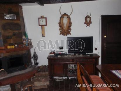 Authentic Bulgarian style house fireplace 2