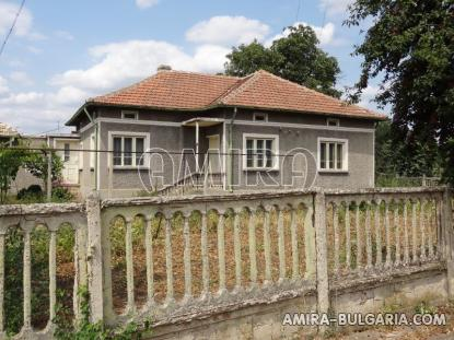 Furnished house in Bulgaria fence