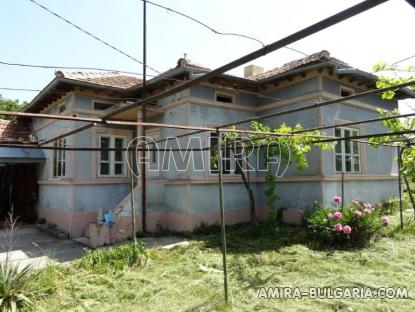 New house with magnificent panorama near Albena, Bulgaria fireplace
