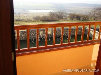 Authentic Bulgarian style house with lake view terrace
