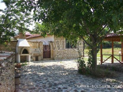 House in traditional Bulgarian style garden 2