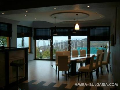 Furnished sea view villa in Balchik living room
