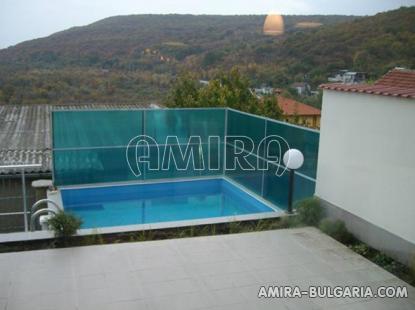 Furnished sea view villa in Balchik pool