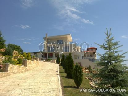 Luxury first line villa in Balchik with magnificent sea view front 6