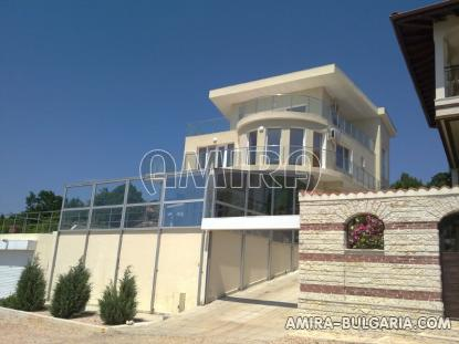 Luxury first line villa in Balchik with magnificent sea view front 5