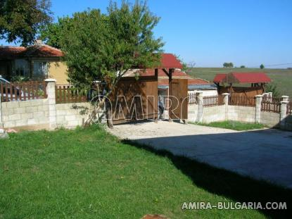 Furnished house with pool and sea view Albena, Bulgaria garden