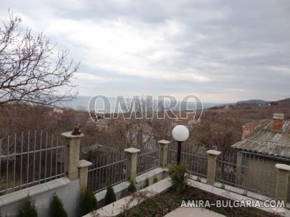 Furnished sea view villa in Balchik view from ground floor