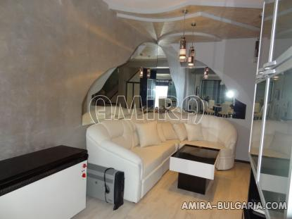 Furnished sea view villa in Balchik dining area