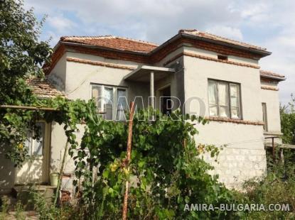 House in Bulgaria near a dam