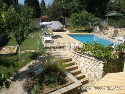 Furnished sea view villa 300m from the beach pool 4